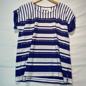 Alfred Dunner Striped Top
